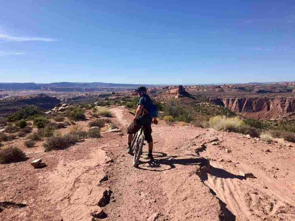 The Whole Enchilada // Wondering where to bike in Utah? In this post, I've rounded up the best Utah bike trails for bikepackers, mountain bikers, & cyclists.