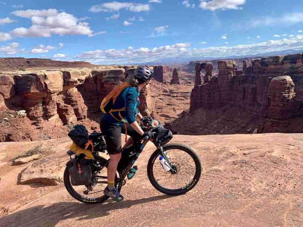 White Rim // Wondering where to bike in Utah? In this post, I've rounded up the best Utah bike trails for bikepackers, mountain bikers, & cyclists.