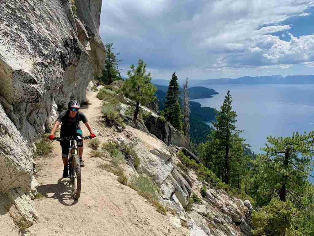 Tahoe Rim and Flume Trail // Ride the best mountain biking routes around the world with this complete IMBA Epics list from epic backcountry rides to scenic mountain loops