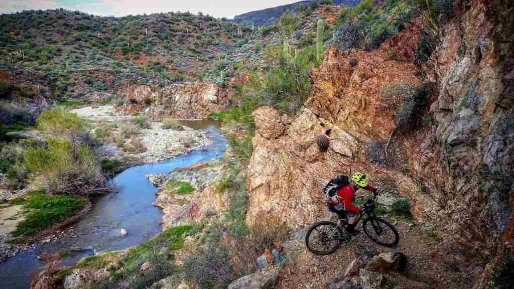 Black Canyon Trail // Ride the best mountain biking routes around the world with this complete IMBA Epics list from epic backcountry rides to scenic mountain loops