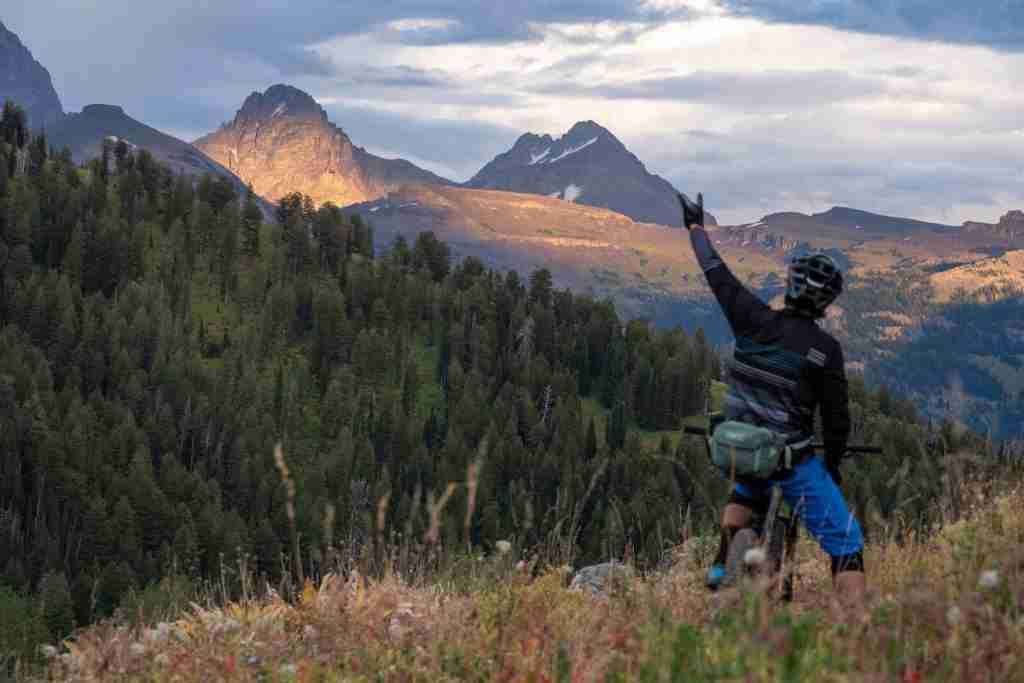 Grand Targhee Loop // Ride the best mountain biking routes around the world with this complete IMBA Epics list from epic backcountry rides to scenic mountain loops
